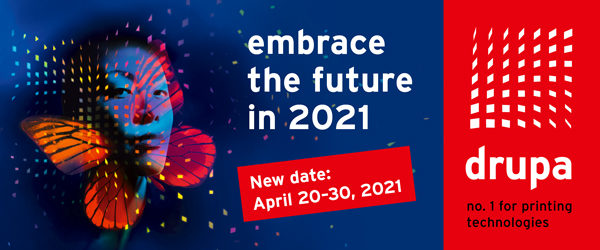 drupa 2021, 20 - 30 April in Düsseldorf