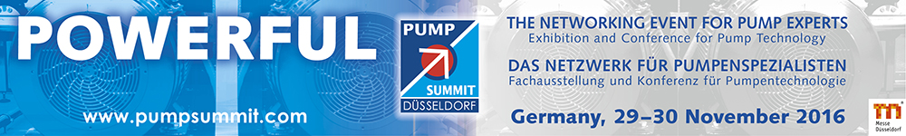 PUMP SUMMIT 2016