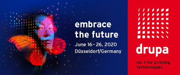 drupa 2020, 16 - 26 June in Düsseldorf
