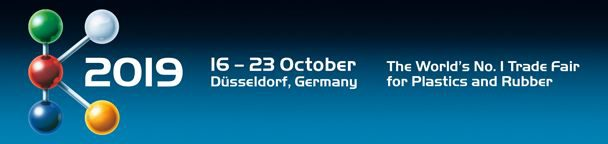 K 2019 from 16. to the 23.10.2019 in Düsseldorf