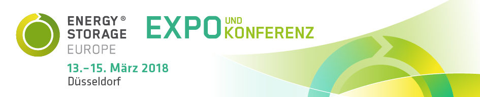 Energy Storage 2017 from 14.3 to the 16.03.2017 in Düsseldorf